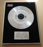 DONNA SUMMER - THERE GOES MY BABY PLATINUM Single Presentation DISC